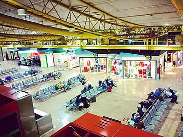 Terminal - área internacional, lounge