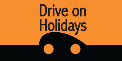 Drive on Holidays