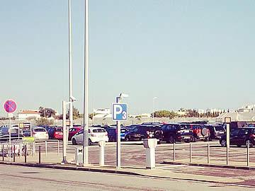 Parque P3 - lugares de estacionamento