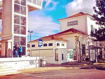 Estação de comboios Albufeira-Ferreiras